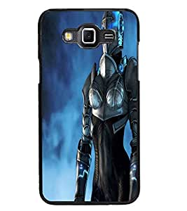 PrintDhaba Warrior D-2320 Back Case Cover for SAMSUNG GALAXY GRAND 3 (Multi-Coloured)