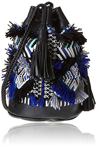 Antik Batik Kilan, Sac porté épaule Bleu (Blue)