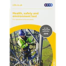 Amazon citb books health safety and environment test for operatives and specialists gt 10016 2016 fandeluxe Gallery