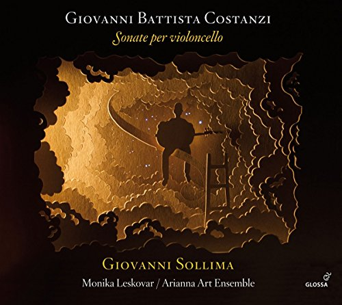 Arianna Art Ensemble: Costanzi: Sonate per Violoncello (Audio CD)