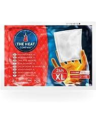 THE HEAT COMPANY Chauffe-Main XL   EXTRA CHAUD   24 heures de chaleur   chaleur immédiate   autochauffante   100% naturel   10 pièces
