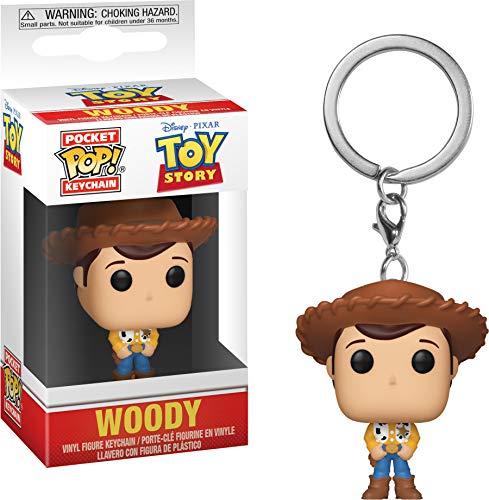 Funko 37018 Pocket Pop Schlüsselanhänger: Toy Story: Woody, Multi