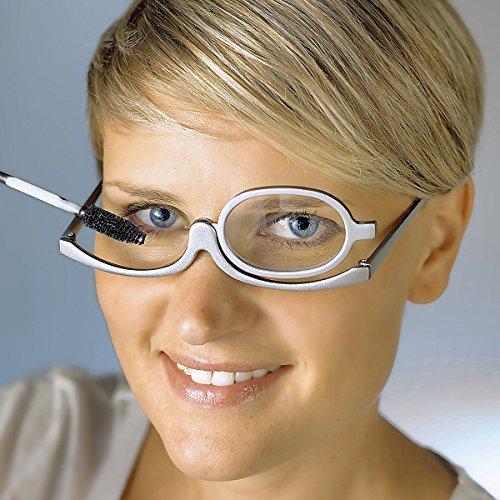 TRI Schmink-BrilleSchminkhilfe Kosmetikzubehör Schminke Augen Wimper Wimpernbrille Makeuphilfe Seniorenhilfe