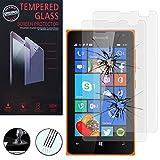 VCOMP Microsoft Nokia Lumia 435/435 Dual SIM: Lot 2 Films de Protection d'écran...