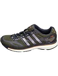 Adidas - Adizero Adios Boost M - D65773 - Color: Blanco-Negro-Verde - Size: 46.6