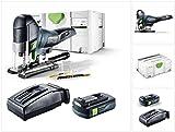 Festool PSC 420 EB Li-Basic Akku Pendelstichsäge CARVEX im Systainer + 1 x BP 18 Li 3,1 Ah Akkupack + TCL 6 Schnell Ladegerät