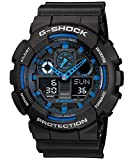 Casio G-Shock GA-100-1A2DR (G271) Analog Digital Blue Dial Men's Watch (GA-100-1A2DR (G271))