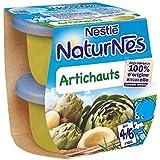 Nestlé naturnes artichauts 2x130g dès 4/6 mois - ( Prix Unitaire ) - Envoi Rapide Et Soignée