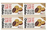 Diablo Sugar Free Sandwich Cookies - 4 x 176g - Vanilla with Cocoa Cream- 4 Pack
