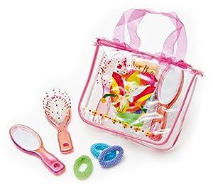 Joy Toy La alegría del Juguete 66224 - Funda de Viaje Hadas con Espejo, Cepillo de Pelo de Cola de Caballo y los titulares