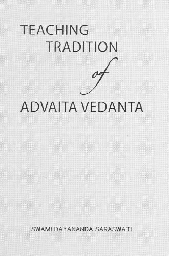 Teaching Tradition of Advaita Vedanta by Swami Dayananda Saraswati (2009-06-01) par Swami Dayananda Saraswati