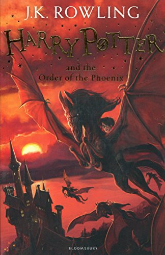 Harry Potter and the Order of the Phoenix Cover Image