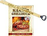 das ultimative Männergrillbuch mit Grill Champion Grillzange 31529