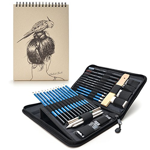 agptek-41pzas-set-de-dibujo-para-hacer-bocetos-estuche-de-lapices-grafito-con-libro-de-bocetos60-hoj