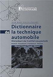 Dictionnaire de la technique automobile : Allemand-Français, Français-Allemand