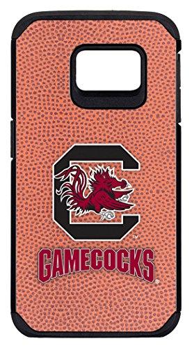 South Carolina Gamecocks Classic football Pebble Grain Schutzhülle Feel Samsung Galaxy S6Edge, One size, Braun (South Carolina Gamecock Fußball)