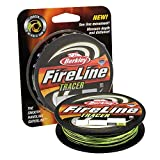 Berkley FireLine Superline Angelschnur, Herren, Smoke/Flame Green, 300-Yard/20-Pound