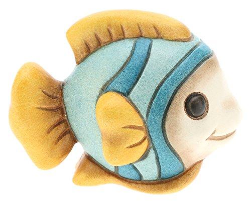 THUN I Classici Pesce, Ceramica, Multicolore, 6.2 x 5.5 x 8.6 cm