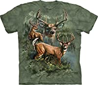 "The Mountain T-Shirt ""Deer Collage"" - The Mountain"
