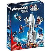 Playmobil Cochete con plataforma lanzami