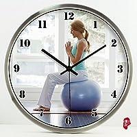CLG-FLY Digital orologio da parete creative muto home decorare orologio orologi da parete contemporanea grafici,#8