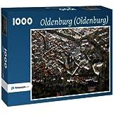 Oldenburg (Oldenburg) - Puzzle 1000 Teile mit Bild von oben