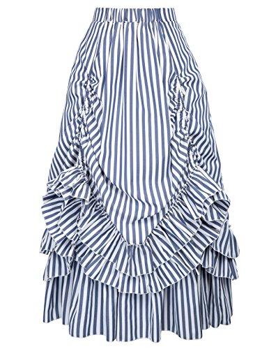 Belle Poque Damen Sexy voller Schlupf Wäsche-Spaghetti-Bügel Negligée Unregelmäßige Nightgown Dwooll groß Farbe-2 -