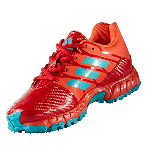 adidas hockey shoes red