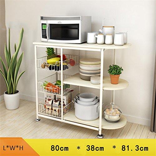 Storage-parete Mensole per cucina rack per forno a microonde ...