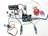 Robozz Lab Visitor Counter with Energy Saving System Using Arduino UNO IR Sensor