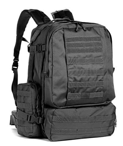 Red Rock Outdoor Gear Diplomat Pack (X-Large, Black) by Red Rock Outdoor Gear