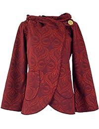 c3a68456d1a29f Guru-Shop Cape Boho Wickeljacke, Damen, Baumwolle, Boho Jacken, Westen  Alternative