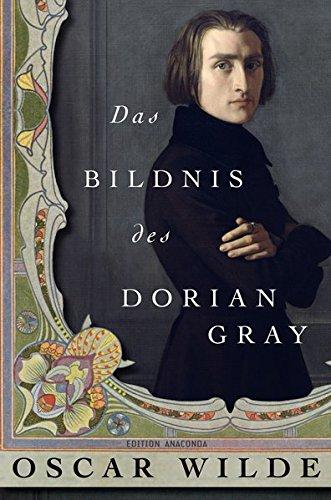 Buchcover Das Bildnis des Dorian Gray (Edition Anaconda, Lesebändchen)