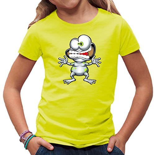 Fun Kinder T-Shirt - Crazy Frog by Im-Shirt - Gelb Kinder 12-14 Jahre (T-shirts Crazy Frog)