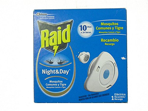 Raid Night & Day - Flies, Mosquitos and Ants - Recambio - [pack de 2]