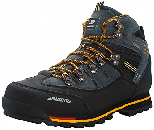 Weweya Hombres Botas de Senderismo Zapatos de Trekking resbaladizo Caminar Transpirable Zapatilla de Escalada
