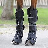 Bucas Freedom Travel Boots - Black/White/Transportgamaschen 4er-Set