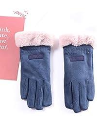 9f294962b60 TD Coton Gants d hiver Ms Garder Au Chaud Plus Velours Épaississement Belle  Étudiant en