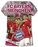 FC Bayern München 2017 - teNeues Fußballkalender 2017, Trikotkalender, FCB Kalender, Fankalender - 34 x 42 cm