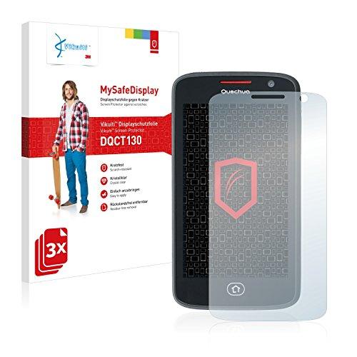 3x-Vikuiti-MySafeDisplay-Displayschutzfolie-DQCT130-von-3M-passend-fr-Quechua-Phone-5