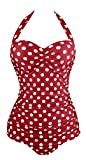EasyMy Vintage Anclas Ba?ador Pin Up Monokinis One Piece