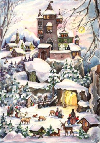 """Adventskalender""""Weihnachten bei der Burg"""": Papier-Adventskalender"""