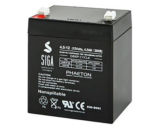 Preisvergleich Produktbild SIGA S4, 5-12 Batterie 12 V/45 Mah