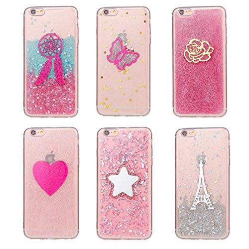 Phone Case & Hülle Für iPhone 6 Plus und 6s Plus weißes Turm Muster TPU schützende rückseitige Abdeckungs-Fall ( SKU : Ip6p5122f ) Ip6p5122a