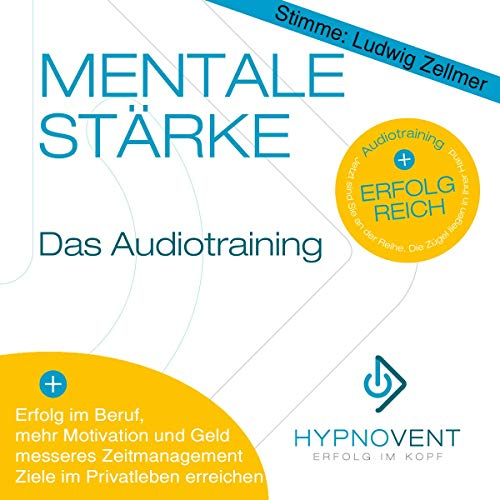 Hypnose CD für mehr Erfolg, Ziele erreichen, mehr Motivation, Zeit einsparen, mehr Ausstrahlung, Original von HYPNOVENT - Erfolg im Kopf (Stimme: Ludwig Zellmer)