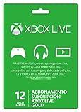 Xbox Live - Gold Card 12 Mesi - Microsoft - amazon.it