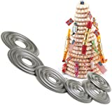 Norpro Nonstick Kransekake Dessert Ring Cake Tower Forms NEW