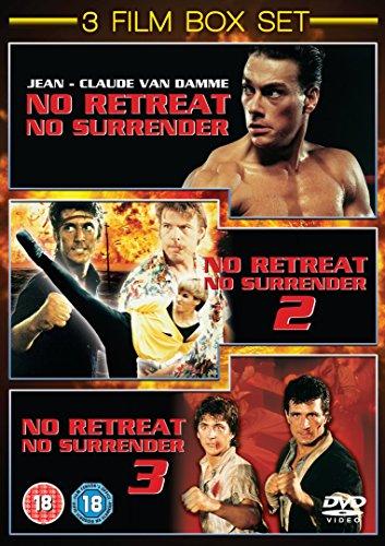 No Retreat No Surrender 1 - 3 [DVD] (Retreat-dvd)
