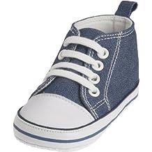 Playshoes Baby Sneaker, Infantile, Blu (jeansblau 3),