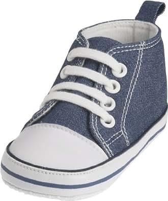 Playshoes Baby Turnschuhe, Sneaker, Scarpe Primi Passi Unisex - Bimbi 0-24, Blu (Jeansblau 3), 6 mesi